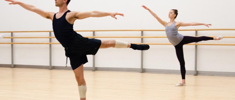 Tom Gold Dance rehearses November Steps